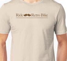 Bigode: Ride a Retro Bike Unisex T-Shirt