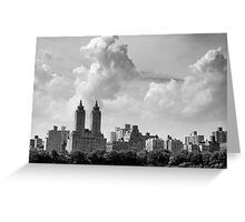 San Remo and Clouds Greeting Card