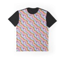 Melted Sweets Pattern Graphic T-Shirt