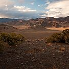 West from Pyramid, Nevada by Kurt Golgart