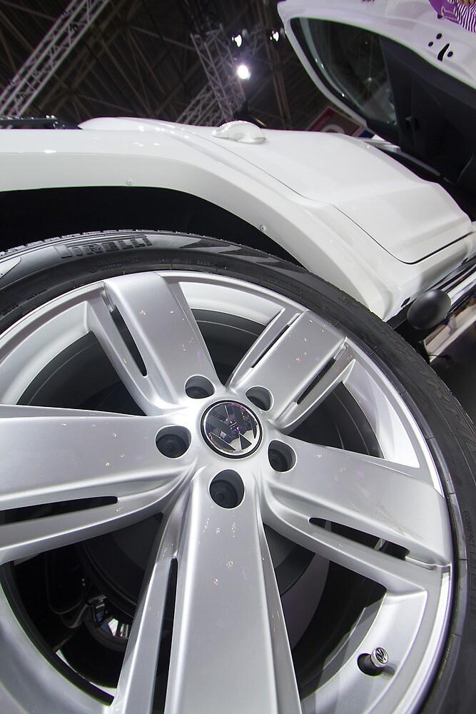 Volkswagen Amarok Highline Tire [ Print & iPad / iPod / iPhone Case ] by Mauricio Santana