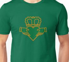 claddagh  ireland  irish crown Unisex T-Shirt