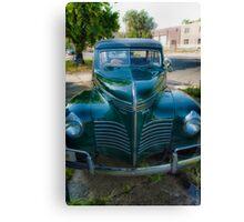 1940 Plymouth Woody Wagon Canvas Print