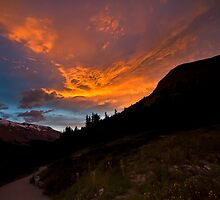 Fire in the Sky by dlhedberg