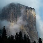 El Capitan Clouds by Randy  Le'Moine