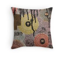 Many Shades of Art Throw Pillow