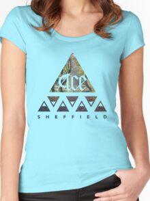 Mountains of Sheffield Nature Tee Women's Fitted Scoop T-Shirt