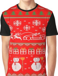 Ugly XMas Sweater - Mazda Miata Graphic T-Shirt