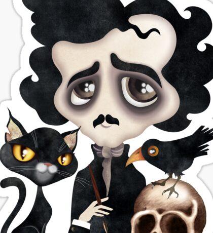 Edgar Poet Sticker