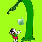 Green, Tree and Kids with an apple iphone 5, iphone 4 4s, iPhone 3Gs, iPod Touch 4g case, Available for T-Shirt man and woman by Pointsale store.com