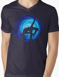Blue Moon Woman Mens V-Neck T-Shirt