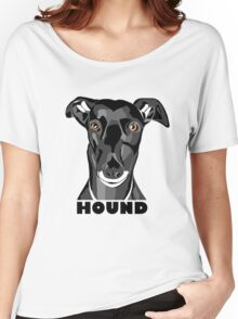 Boris the Greyhound mk2 Women's Relaxed Fit T-Shirt