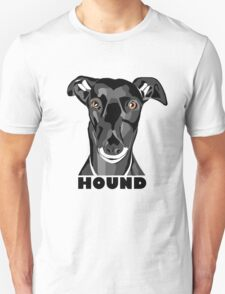 Boris the Greyhound mk2 Unisex T-Shirt