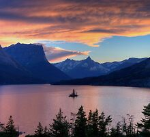 Goose Island Sunset by JamesA1