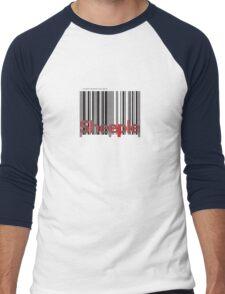 Sheeple InsideBoxBlack Men's Baseball ¾ T-Shirt