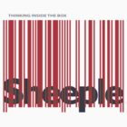 Sheeple InsideBoxRed by Paul Fleetham