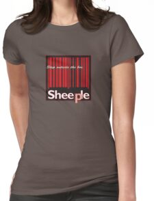 Sheeple StepOutside2 Womens Fitted T-Shirt