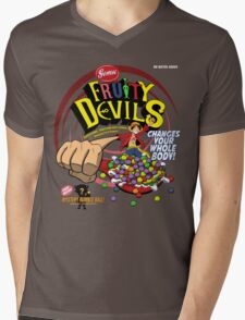 Gomu Fruity Devils Mens V-Neck T-Shirt