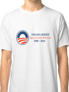 Obama Signed.Sealed.Delivered Tee Classic T-Shirt