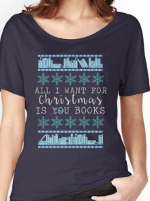Books for Christmas Women's Relaxed Fit T-Shirt