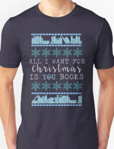 Books for Christmas Unisex T-Shirt