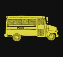Old school bus Kids Clothes
