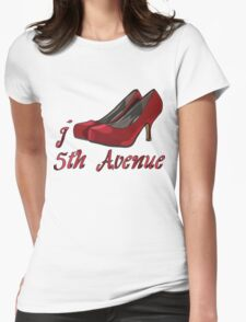 I LOVE 5TH AVENUE T-shirt Womens Fitted T-Shirt