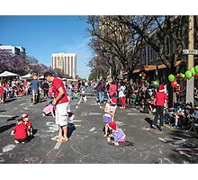 Waiting for the Christmas Pageant - Adelaide Photographic Print