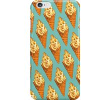 Vanilla Soft Serve Pattern iPhone Case/Skin