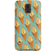Vanilla Soft Serve Pattern Samsung Galaxy Case/Skin