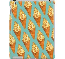 Vanilla Soft Serve Pattern iPad Case/Skin