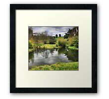Winter's End Framed Print