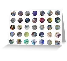 Plastic Bag Abstract Pattern Greeting Card