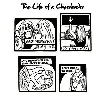 Life of a Cheerleader - Peyton Sawyer  Photographic Print