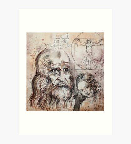 After Da Vinci Art Print
