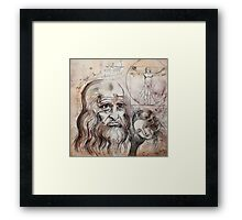After Da Vinci Framed Print