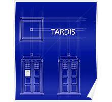 TARDIS Orthogonal Poster