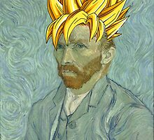 Vincent Van Goku by maiszo