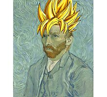 Vincent Van Goku Photographic Print
