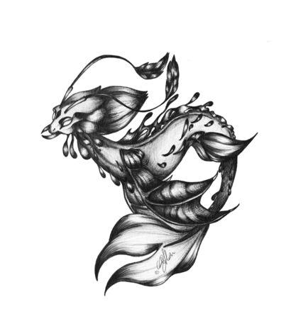 Sea-dragon Male Sticker