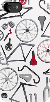 Bicycle Assembly Pattern (gry) by Benjamin Whealing