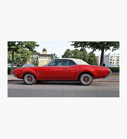 Vintage Cadillac Photographic Print