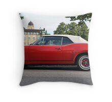 Vintage Cadillac Throw Pillow