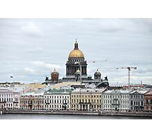 cityscape in Saint Petersburg  Photographic Print