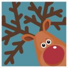 Rudi - Reindeer T-Shirt by BlueShift