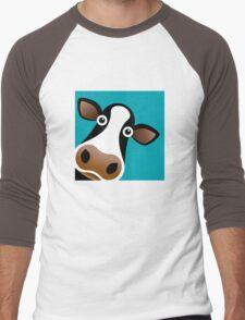 Moo Cow - T Shirt Men's Baseball ¾ T-Shirt