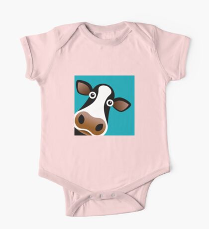 Moo Cow - T Shirt One Piece - Short Sleeve