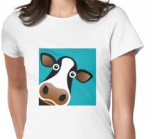 Moo Cow - T Shirt Womens Fitted T-Shirt
