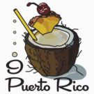I LOVE PUERTO RICO T-shirt by ethnographics
