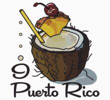 I LOVE PUERTO RICO T-shirt Kids Tee